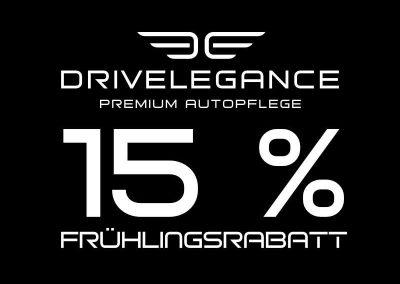 15% Rabatt auf Autopflegeprodukte