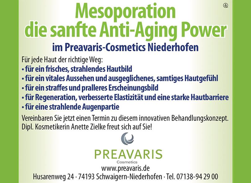 Preavaris Cosmetics – 10% Rabatt auf Erstbehandlung